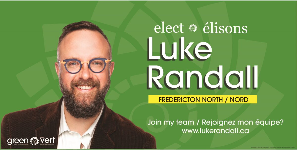 Luke Randall – Fredericton North